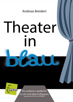 Cover theater in blau